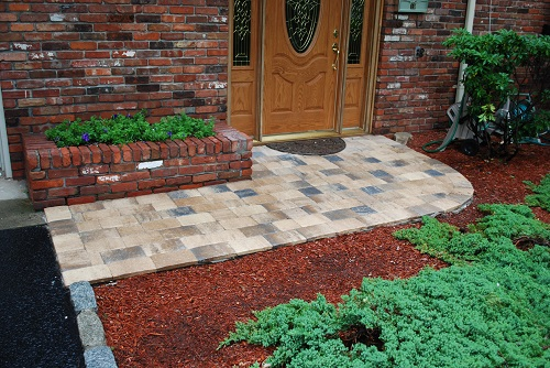 After we installed your pavers we began to get offers, thanks! - Jerry